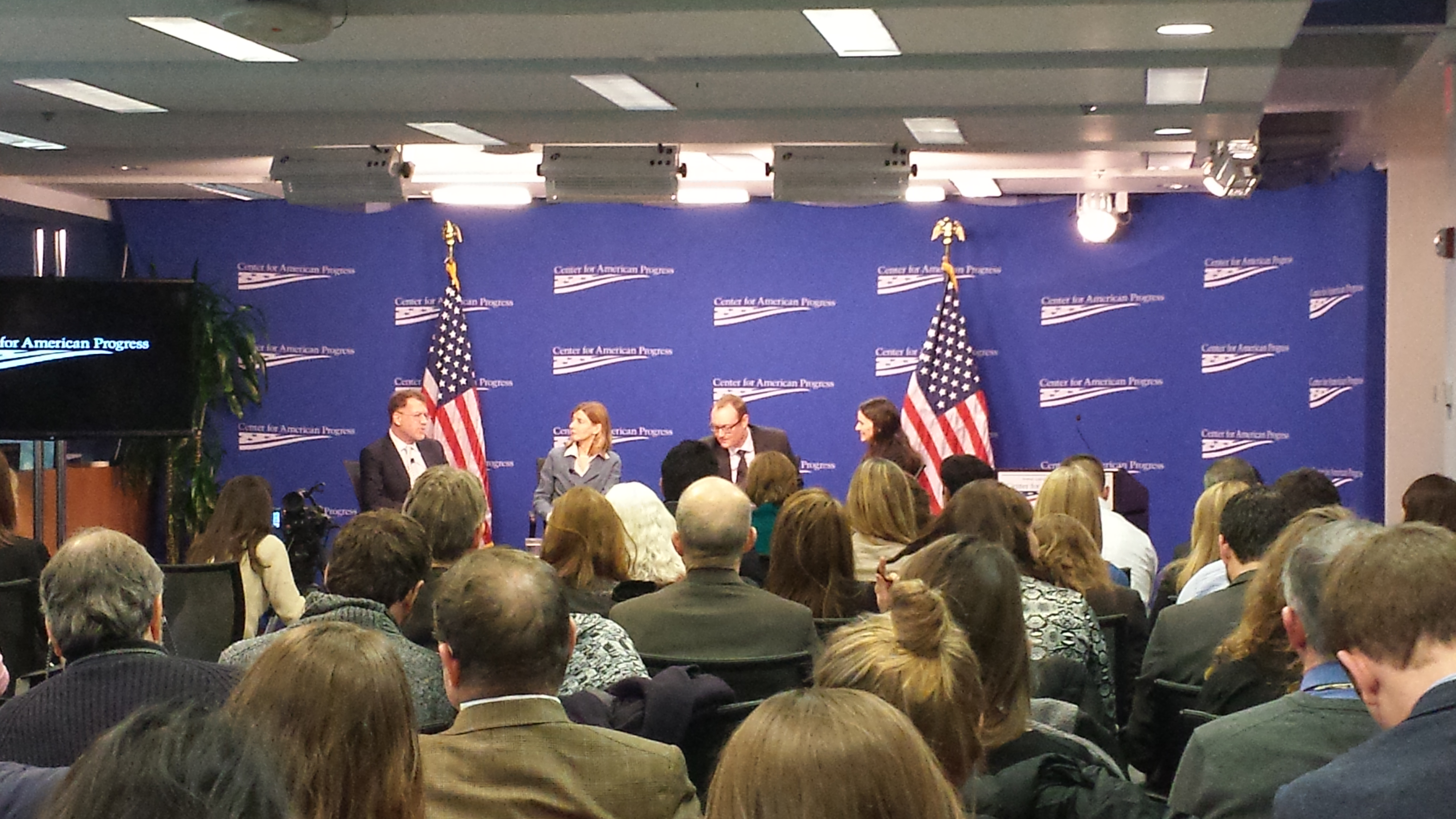 A Panel on Ending Extreme Poverty in Conflict-Affected Contexts at Center for American Progress 01/28/14