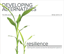 Forging resilience: defining next steps and building on initial gains
