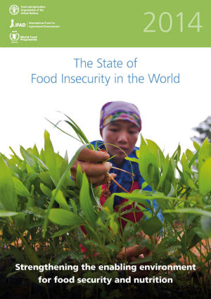 805 Million Still Suffering from Hunger: The 2014 State of Food Insecurity in the World