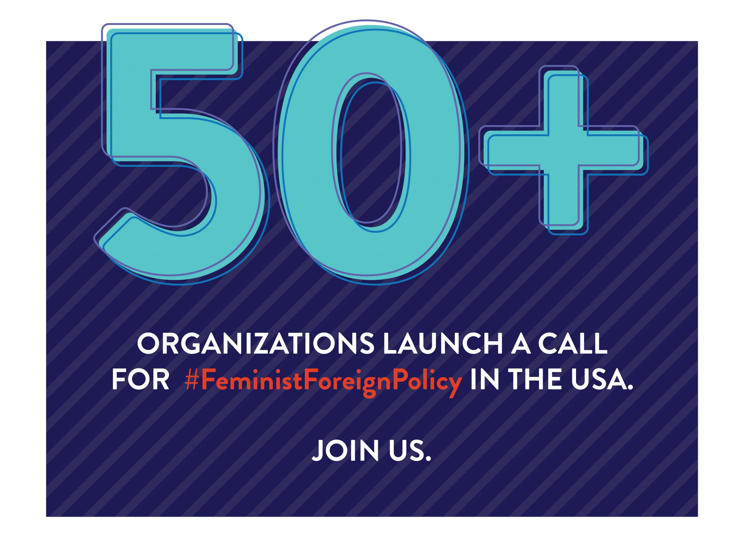 Call for a #Feminist Foreign Policy in the US.